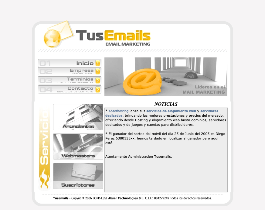 Old_TusEmails COM