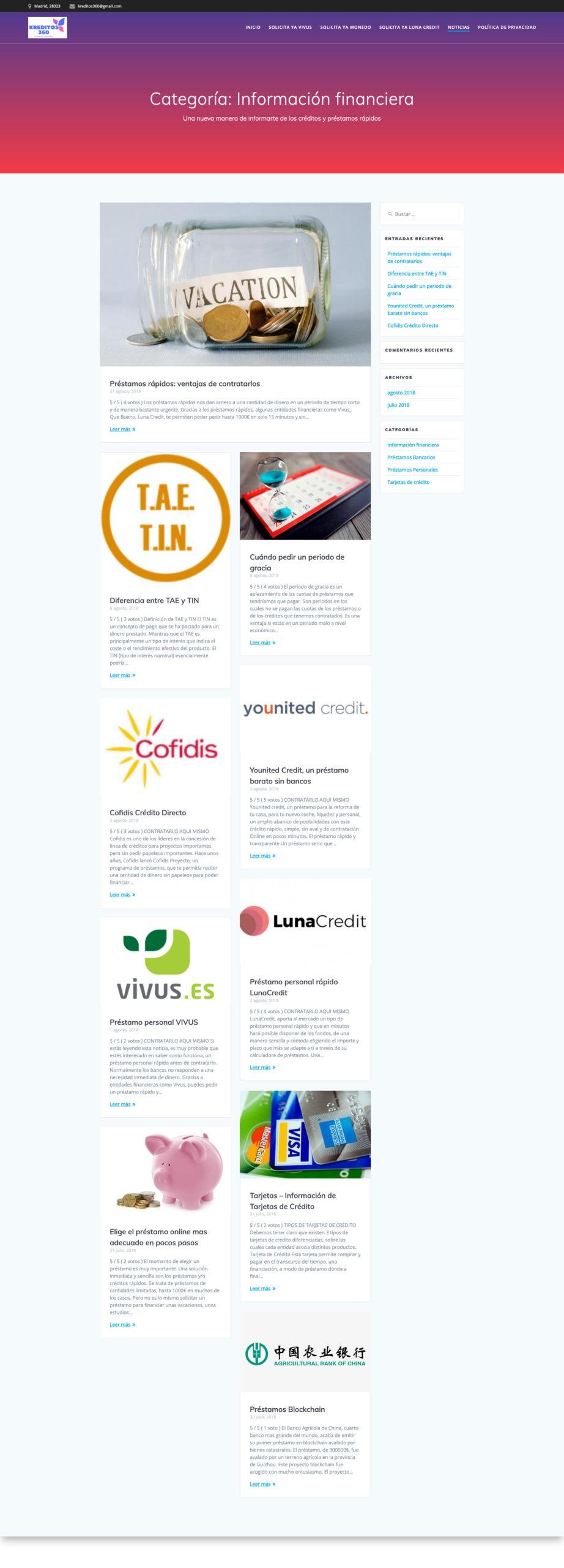 Screenshot_2019-11-19 Información financiera Archives - Comparador de préstamos y creditos