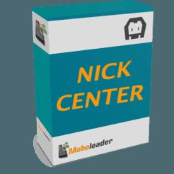 SDK NickCenter – Plugin Cordova